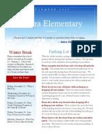 december 2015 newsletter