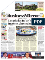 BUSINESS MIRROR FRONT PAGE