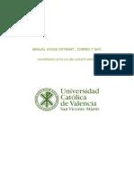 Manual Intranet UCV