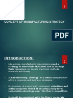 Lect 1_concept of Manufacturing Strategy