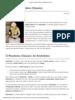 O Realismo Jurídico Clássico - PortalSabedoria