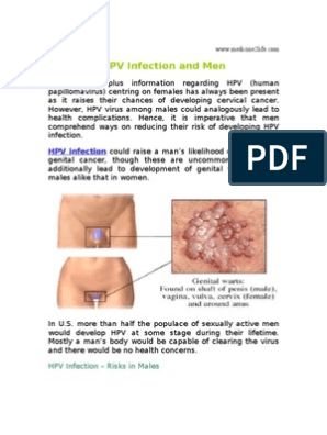 hpv virus and males