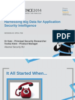 Spo1 t08 Harnessing Big Data for Application Security Intelligence