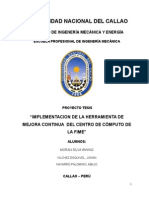 Mejora Continua Del Centro de Cómputo de La Fime (1)