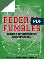 Federal Fumbles 2015