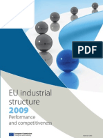 EU industrial structure 2009 Performance and competitiveness