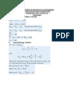 Thermodynamics Formulae