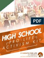 2015 High School Activism Kit
