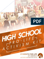 2015 High School Activism Kit