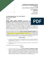 DISTRIBUIDORA DE MATERIALES PARA CONSTRUCCIOìN Y FERRETERIìA PIRULES  demanda pagare.docx