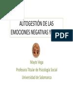 Curso Autogestión de Las Emociones Negativas y Salud