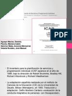 presentacion breve del ICAP