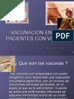 Vacunacion en Pacientes Con Vih