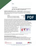 Advanced Instruments Introduces New Levels of Osmometer Reference Standards PR V3