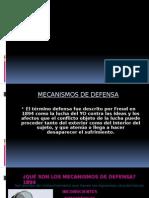 Mecanismos de Defensa Con Ejemplos