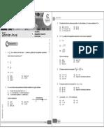 Guía 31 MT-21 Desigualdades e Inecuaciones de Primer Grado