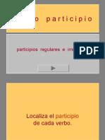 actividades conjugación Verbo Participio