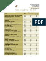 Catalogo Ive 2014