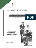 Violencia y Sociedad 2010