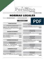 Normas Legales, lunes 30 de noviembre del 2015