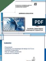 Presentacion Maestria Gerencia 31-10-2015