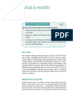 Contemporary Health Studies Sample Chapter1