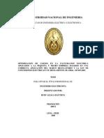 Tesis , Sector Electrico en El Peru