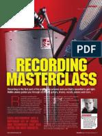 Music Tech Focus - Recording Masterclass