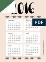 Calendar Eu
