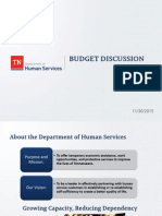 DHS Budget PowerPoint