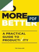 SAMPLE of Do More Better