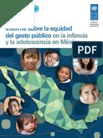 UNICEF PNUD Equidad Gasto Low