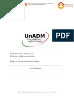Etapa 1. Desarrollo Comunitario _Actividades