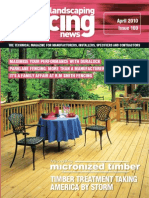 Fencing & Landscaping News - April 2010 (FN0410)