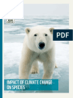 Impact of Climate Change on Species Wwf Report