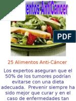 25 Alimentos Anti Cancer 8014