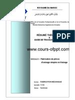 MODULE 3 Fabrication de pièces d'usinage simples en fraisage.pdf