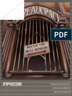 Bureaucracy Manual Infocom