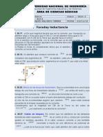 Ejercicios de Faraday e Inductancia