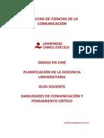 14-15 GD 1º 1 CINE Habilidades de Comunicación y Pensamiento Crítico OK
