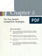Chapter 5 the Five Generic ... Strategies