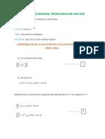 Comprobación de La Solución de La Ecuación Diferencial de Onda Lineal-untels-fernandez Fernandez Leonel-IV Ciclo -Ime