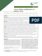 Vegan Diet Increase Antoxidant Decrease Lipid Level