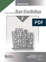 Ciencias sociales 7°
