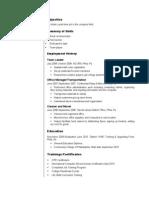 Jobswire.com Resume of nmoneyman90