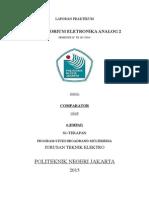 Laporan Praktikum Comparator