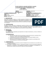Syllabus Estructuras de Metal-uees-2012