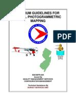 Minimum Guide Line in Photogrammetric