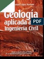 Geologia Aplicada a La Ingeniería Civil - Juan Manuel López Mariñas