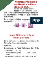 Unidades Quimicas de Masa